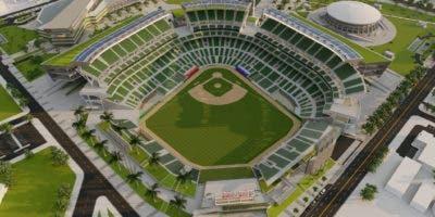 Así quedará el estadio Quisqueya Juan Marichal con la ampliación de su planta física y su contorno, apto para partidos de Grandes Ligas.