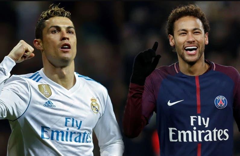 Cristiano Ronaldo y Neymar pactan con la empresa Altice.