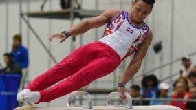 Audrys Nin Reyes, esperanza de medalla en gimnasia de los Panamericanos.