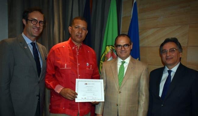 Paulo Fernández, José Luis Falcón, Salvador Da Cunha y Randall Lama.