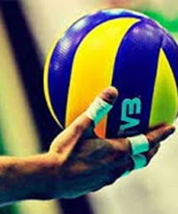 Los voleibolistas dominicanos se preparan.