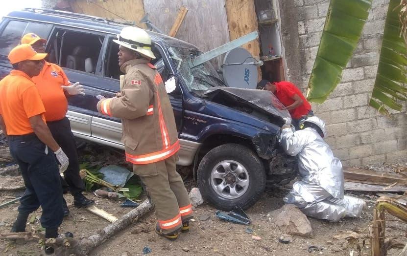 Condiciones como  quedó el vehículo accidentado.   FUENTE EXTERNA