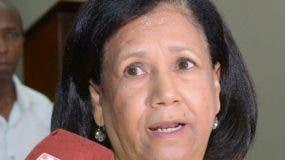 Mirían  Cabral, miembro del Comité Político. Archivo.