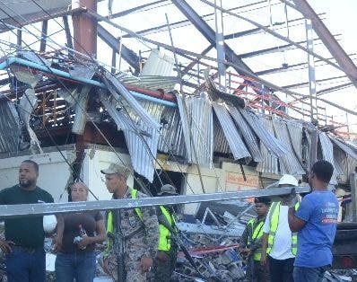 Explosión en  la Fábrica de Plásticos Dominicanos.