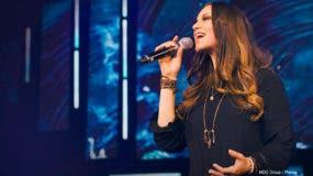 La cantante cristiana Christine D' Clario