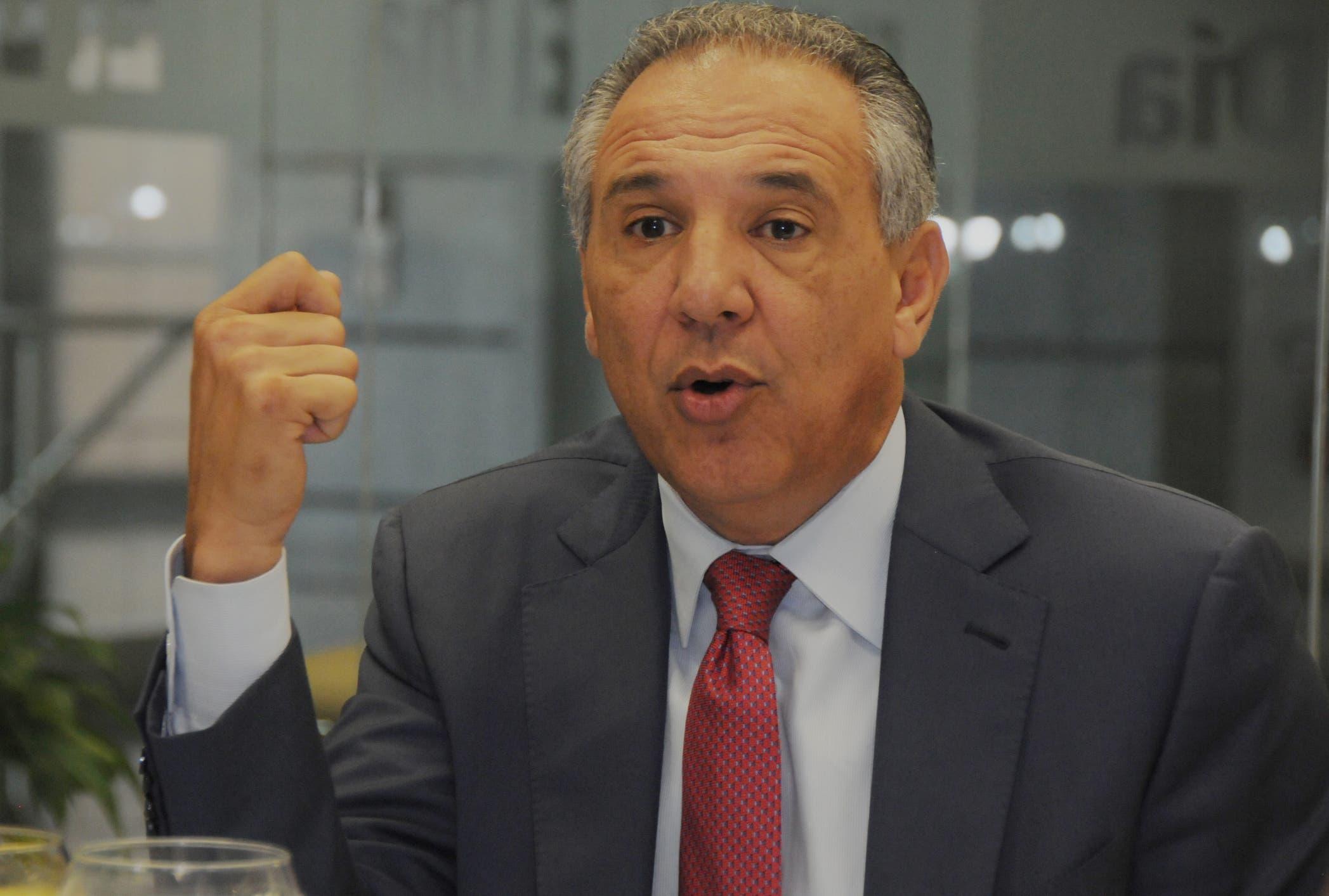 José Ramón Peralta  hizo un llamado a los sectores dentro del PLD a limar asperezas y trabajar a favor de la organización para comicios de 2020. Nicolás Monegro
