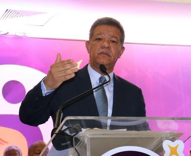 Leonel Fernández. Foto de archivo.