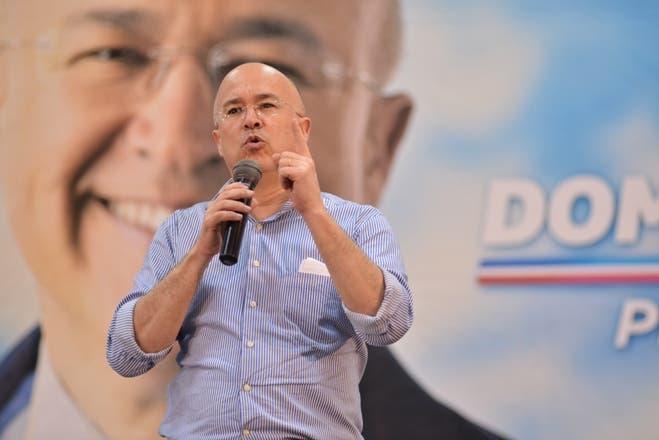 Domínguez Brito, precandidato presidencial del PLD
