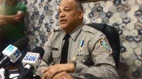 Coronel Frank Félix Durán Mejía, vocero de la Policía.