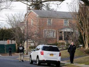 El suceso ocurrió frente a esta casa en el barrio Todt Hill de Staten Island, donde residía Cali, conocido por la influencia de mafiosos.