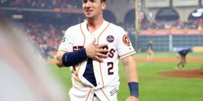 El tercera base del All-Star, Alex Bregman.