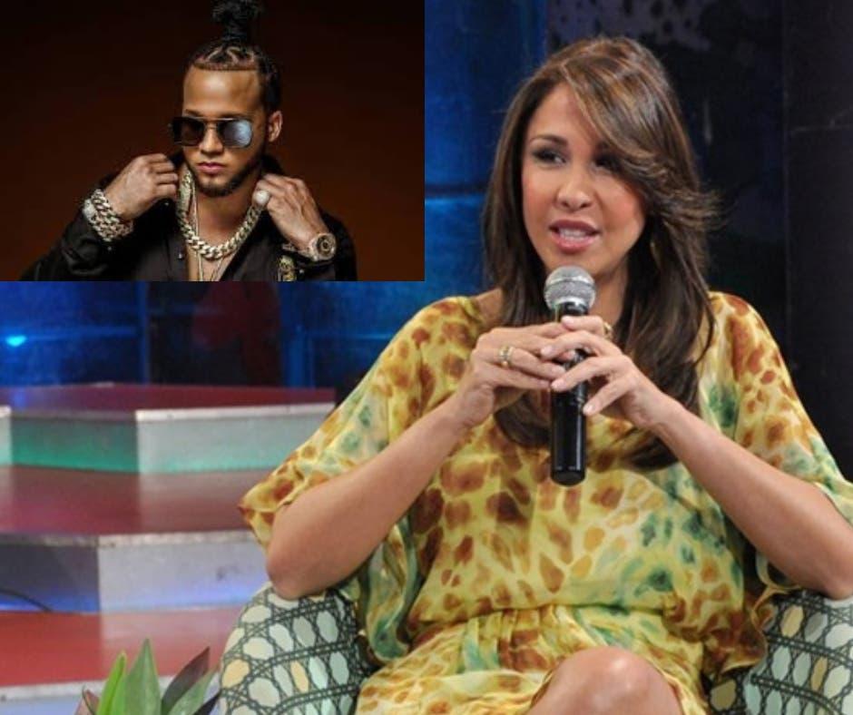 Mariasela Álvarez responde a usuarios que la ofenden en Instagram por criticar premio de El Alfa
