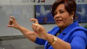 Josefa Castillo, diputada del PRM. Foto: José de León.