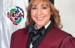 Katia Miguelina Jiménez Martínez, jueza del Tribunal Constitucional.