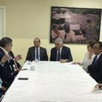 Miguel Vargas se reunió con  el pleno de la JCE.