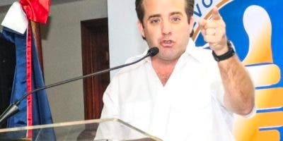 José Ignacio Paliza, presidente del PRM.