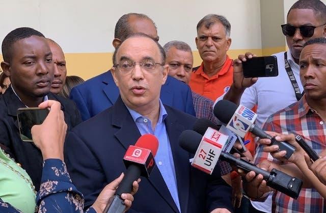 Federico Antún Batlle (Quique), llamó a la sociedad a rechazar de manera contundente esas presiones y ataques del PLD contra los magistrados del TSE.