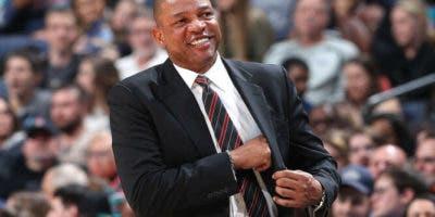 Doc Rivers, entrenador de los Ángeles Clippers.