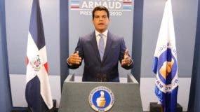 Wellington Arnaud, precandidato presidencial del PRM.