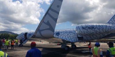 Jet privado de Jordan.