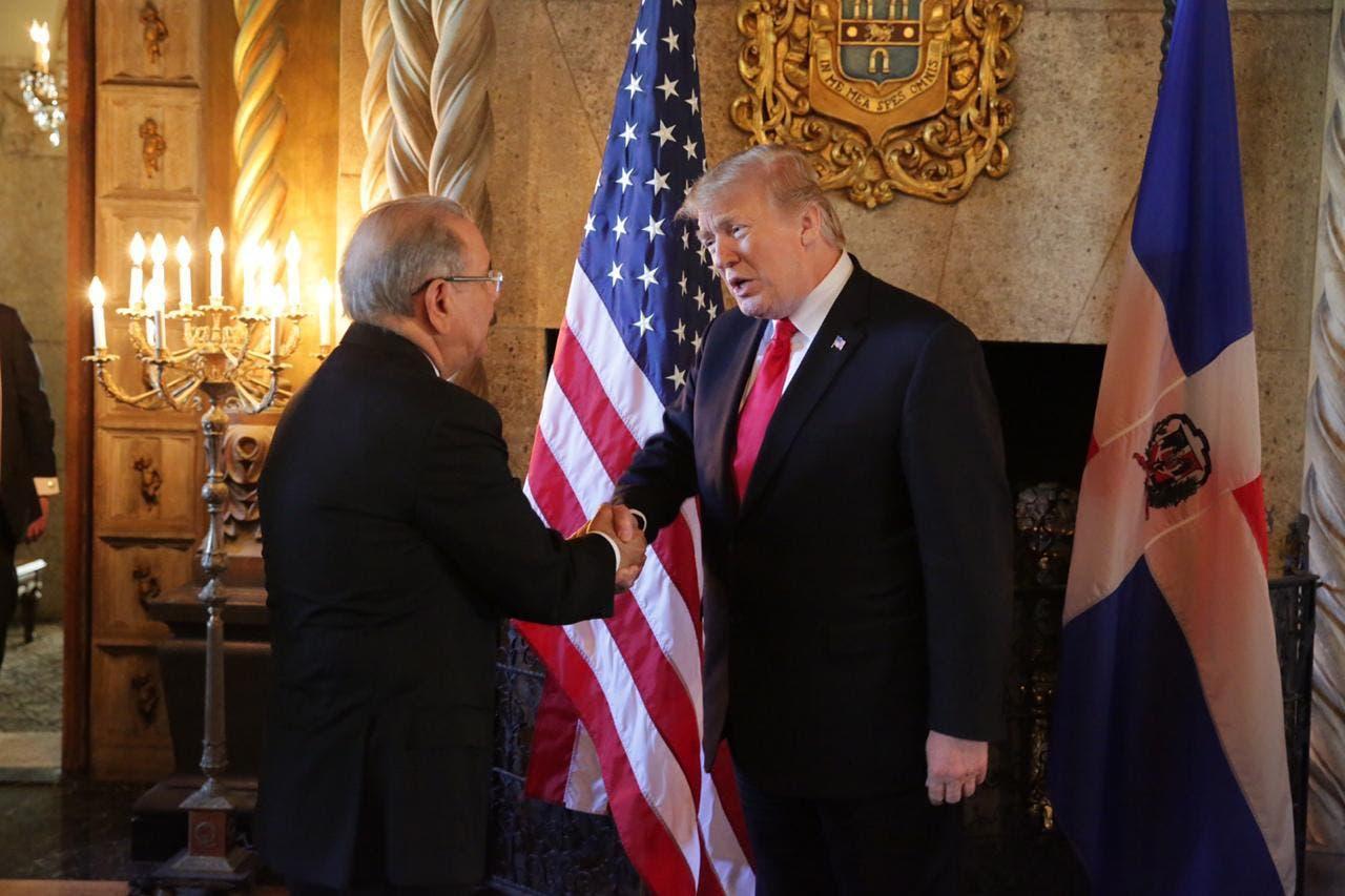 6. Donald Trump recibe a Danilo Medina