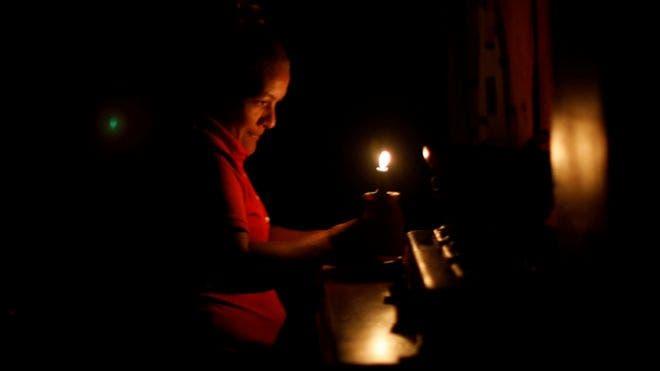 Venezuela está a oscuras desde el jueves por un gran apagón que afecta a casi la totalidad del país.