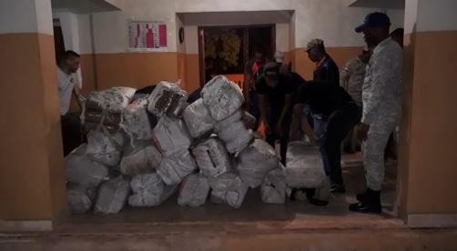 Armada decomisa más de 1,400 libras de marihuana en embarcación próximo a Isla Beata