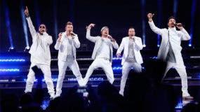 Backstreet Boys se presentaron con un concierto de alto nivel técnico.