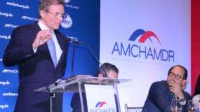 Roberto Alvarez, ex embajador de la República Dominicana ante la OEA. Foto José de León.