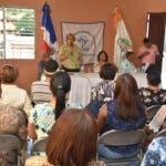 Organizaciones de defensa al consumidor en acto celebrado en la cede de EN ACACDISNA. por el Día de Consumidor.