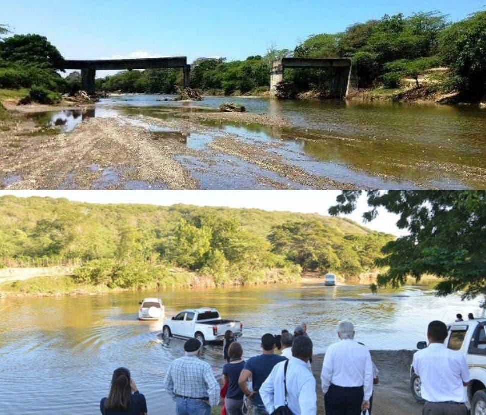 Entidades piden construcción de puente que une La Isabela con Luperón