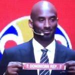 Kobe Bryant anuncia el grupo en el que jugará  la República Dominicana.