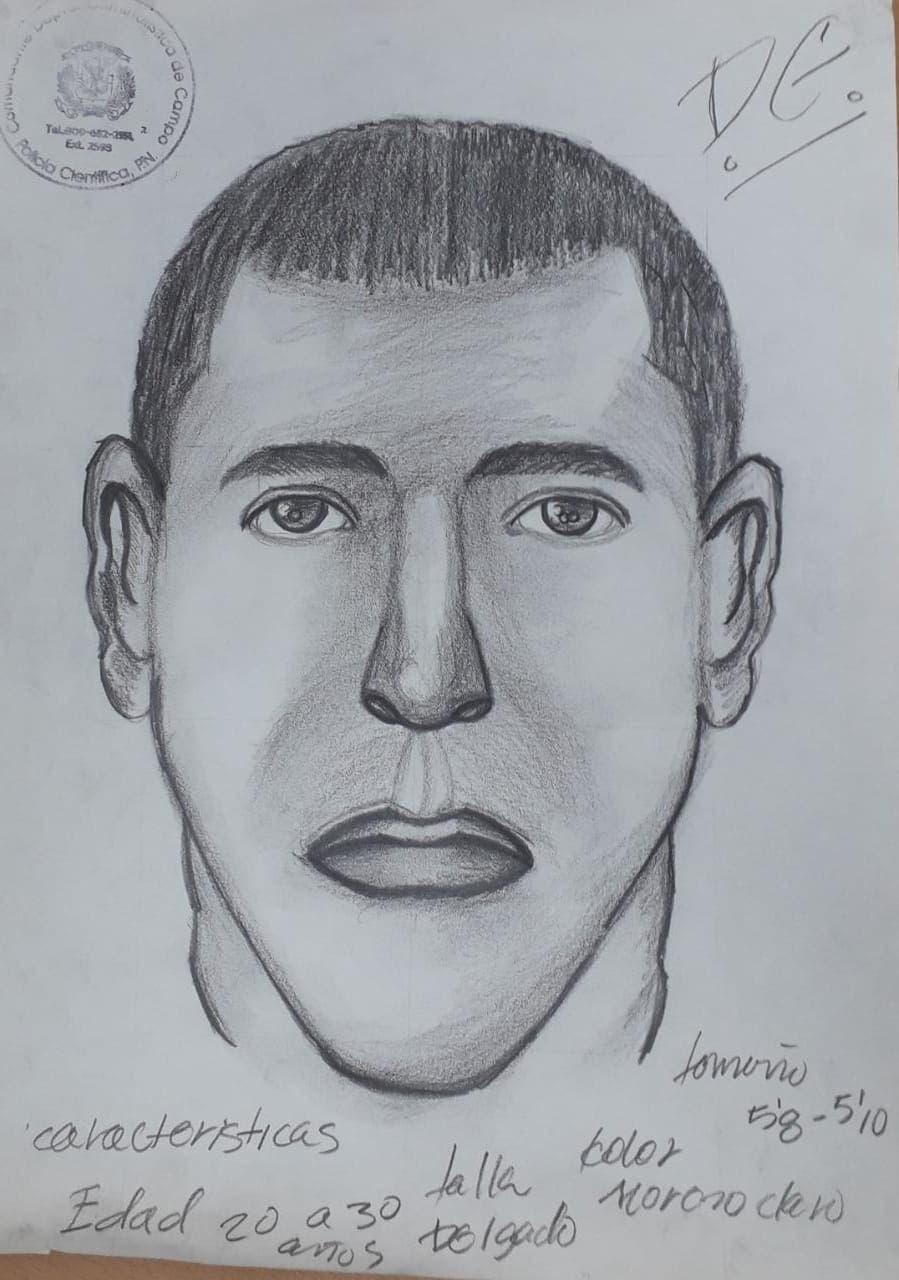 La Policía difundió el retrato hablado del pasajero que no ha sido localizado.