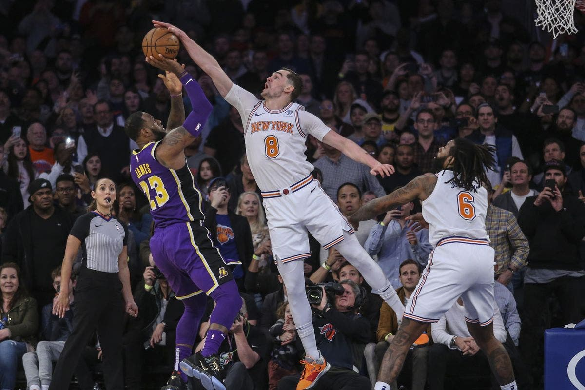 Vencen Knicks a los Lakers -Reforma