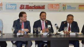 Abel Martínez habló de los trabajos que realiza en Santiago durante su gestión     para alcanzar su recuperación, al participar en  el Almuerzo del Grupo Corripio.  Carolina  Fernández