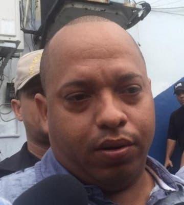 El imputado Rafael Ciprián Féliz.