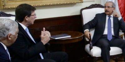Miguel Vargas, Luis Rivera Marín y Danilo Medina.  fuente externa
