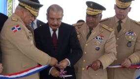 Danilo Medina durante la inauguración .  Carolina Fernández