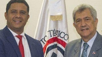 Milton Reyes  y Mariano Arturo, de Capgefi.
