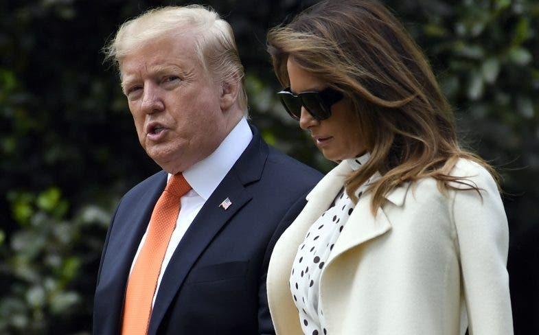 Donald Trump y su esposa Melania dieron positivo por covid-19.