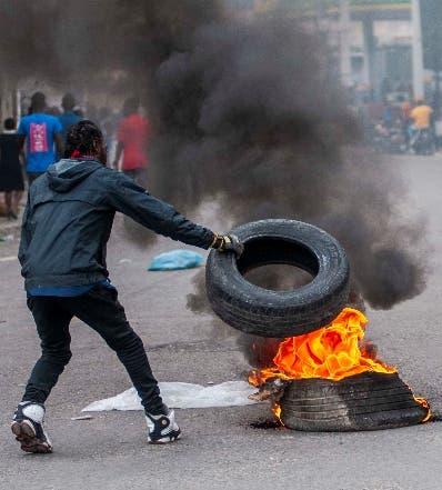 Disturbios en funeral del periodista haitiano asesinado en junio en protestas