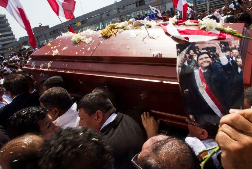 El gobierno declaró  duelo nacional por  muerte de Alan García.