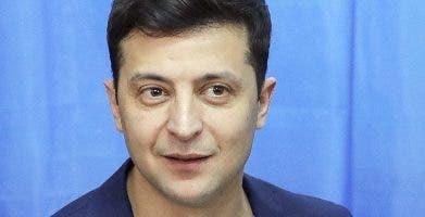 Volodymyr Zelenskiy recibió el 73,2% de los votos. ap