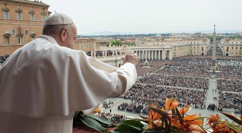 El papa señaló   los conflictos en el Medio Oriente y África. efe