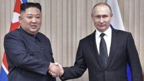 Putin y Kim hablaron de  varios tópicos de política global.