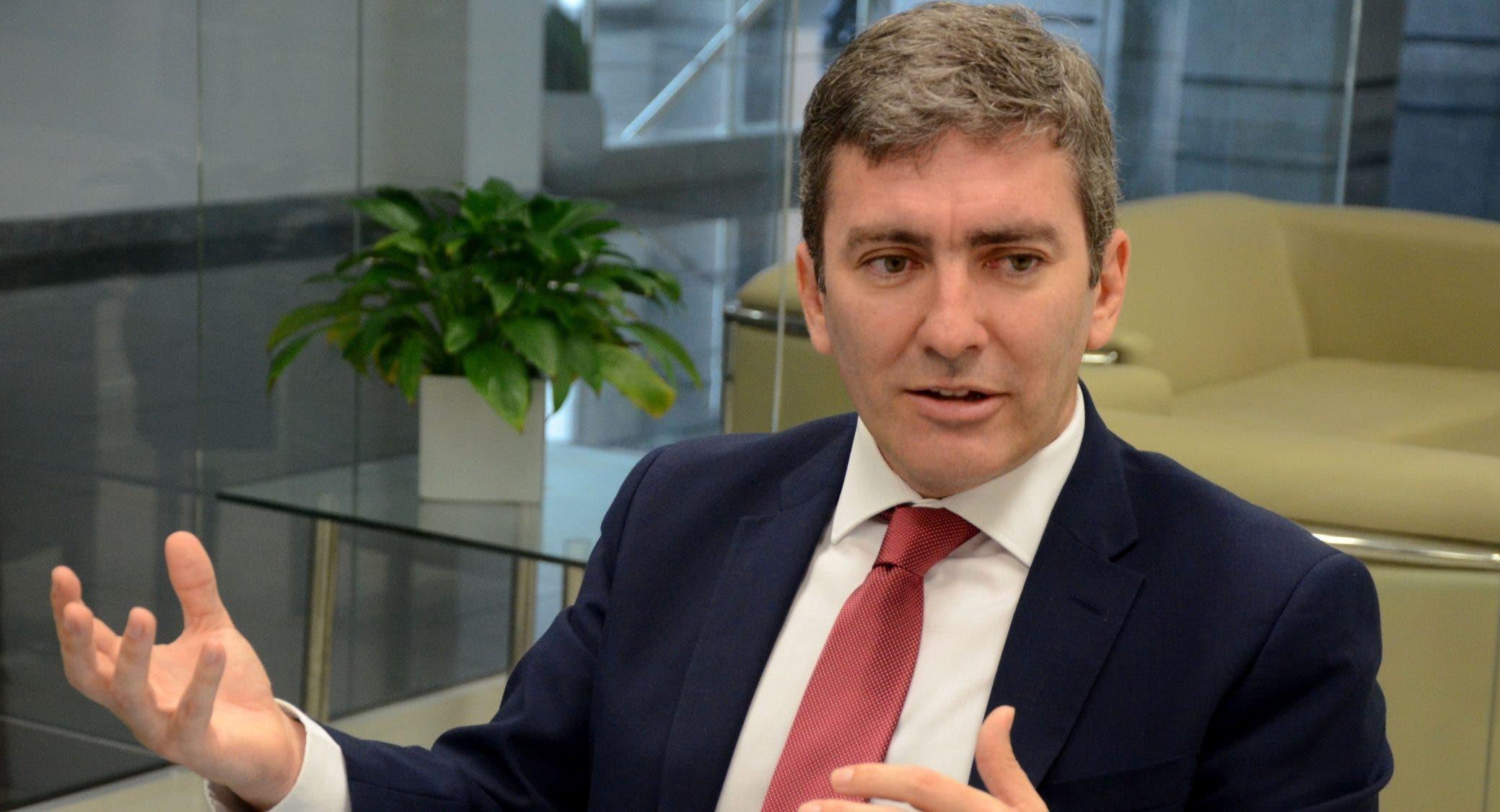 Joaquín Zentner, representante del BID.  Carolina Fernandez