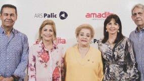 Jaime Herrera, Patricia González de Bergés, Amada Pittaluga de González, Mirla Estévez y Paúl Martínez.