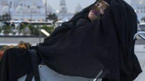 Abdulla está de  vuelta en Abu Dhabi con su familia.
