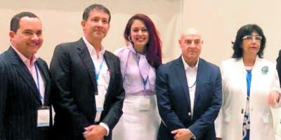 Luis López Tallaj, Mario Cabral, Sheila Mota, José Serres y Dolly Nin.
