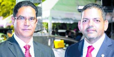 Ángel Alberto Then y Peter Cabrera.
